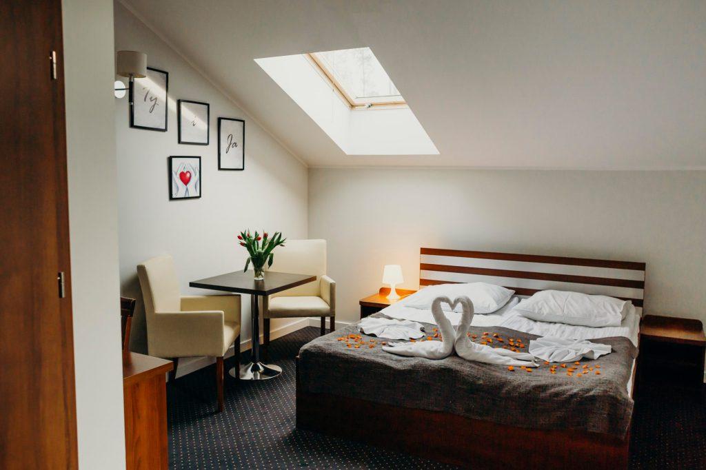 apartament łóżko podwójne