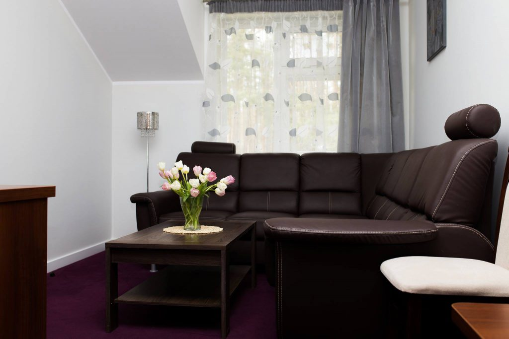 Hotel Villa Leśne Ustronie sofa